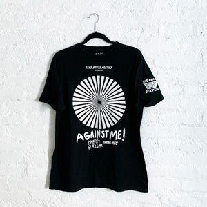 "House of Vans ""Against Me"" Shirt"